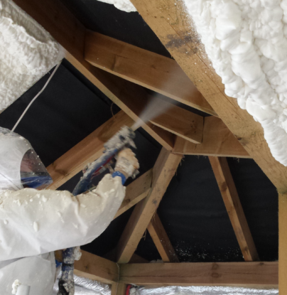 Single family, attic - membrane